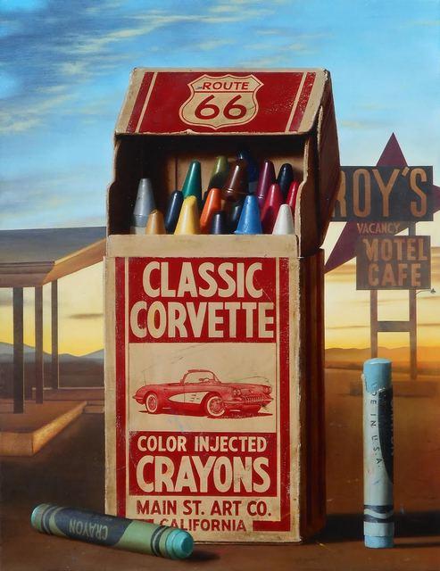 , 'Corvette Crayons,' 2017, CODA Gallery