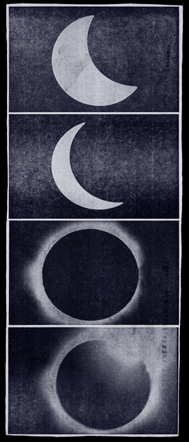 , 'Eclipse Newspaper Blue,' 2010, Metro Pictures