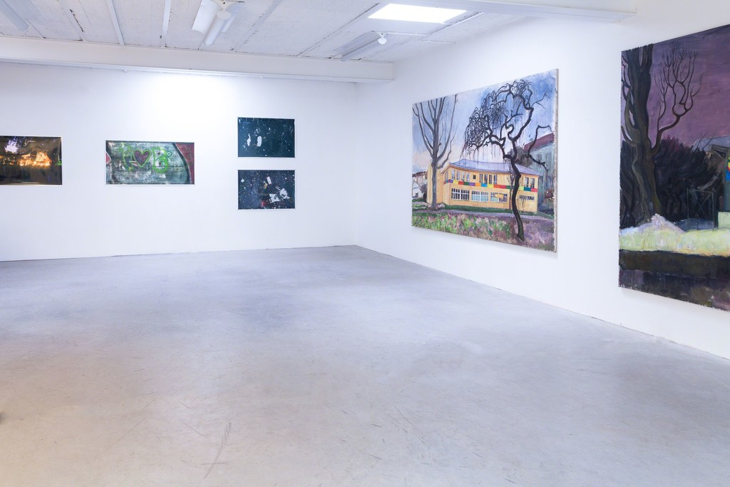 Alfredo Ramos Fernández (left) and Katarzyna Badach (right), exhibition view | image: ©dasesszimmer