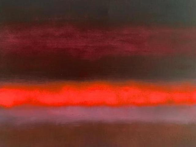 Paul Hughes, ' 'Rising Orange Purple', from 'Somewhere Between Two Worlds' series', 2019, Tanya Baxter Contemporary