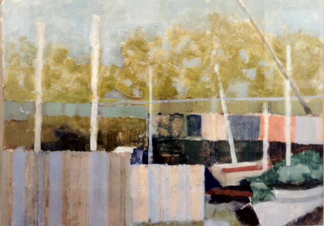 , 'The Boats,' , The South Street Gallery