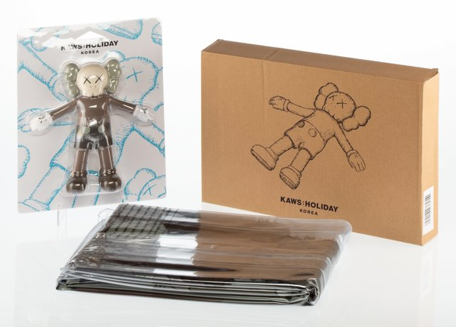 KAWS, 'KAWS: Holiday Bath Toy and Floating Bed (two works)', 2018, Heritage Auctions