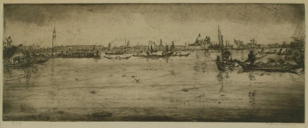 Venice, Harbor Scene