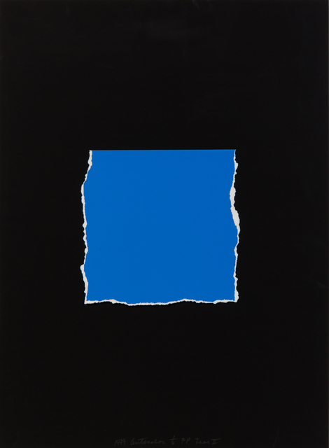 Stephen Antonakos, 'Tear II', 1999, Hindman