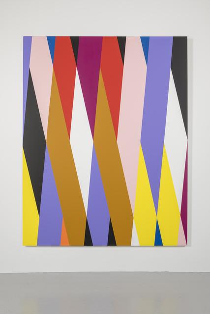 , 'Salsa Lilac,' 2017, David Risley Gallery