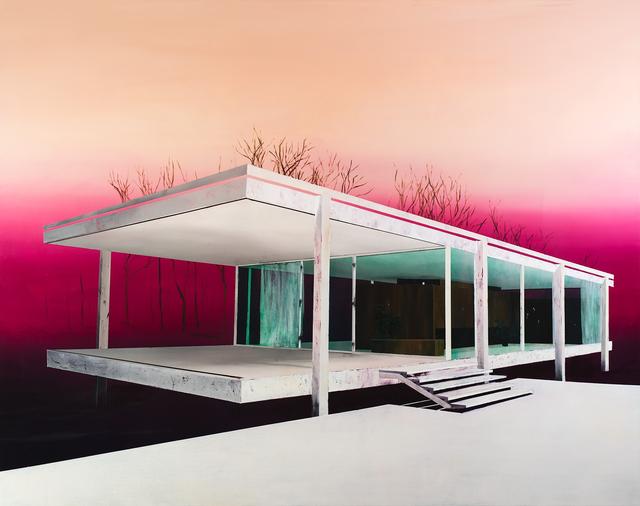 , 'Farnsworth Gradient,' 2016, Rebecca Hossack Art Gallery