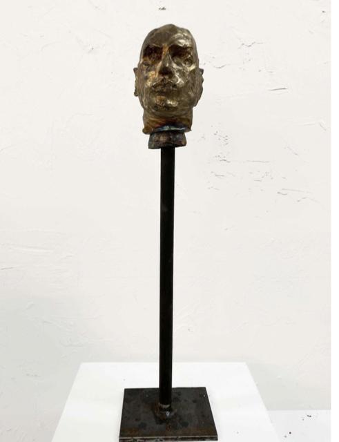 , 'Bronze Head #4,' 2019, Pan American Art Projects