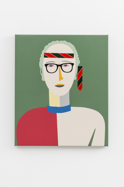 , 'Rock n' Roll Singer (after Malevich 1932),' 2017, JGM Gallery