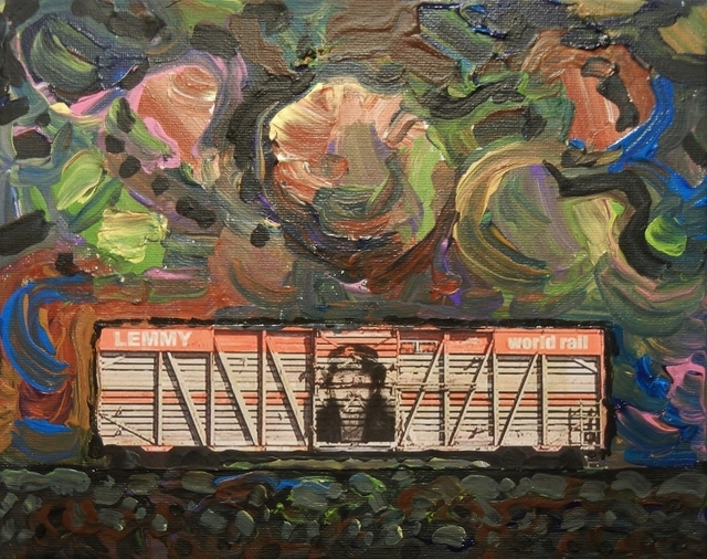 Steve Coffey, 'Fallen Star Cars - Lemmy', 2018, The Front Gallery