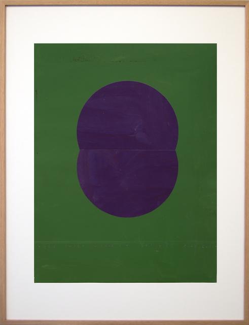 , 'Iris Paper Mirror Pit,' 2011, FOLD Gallery