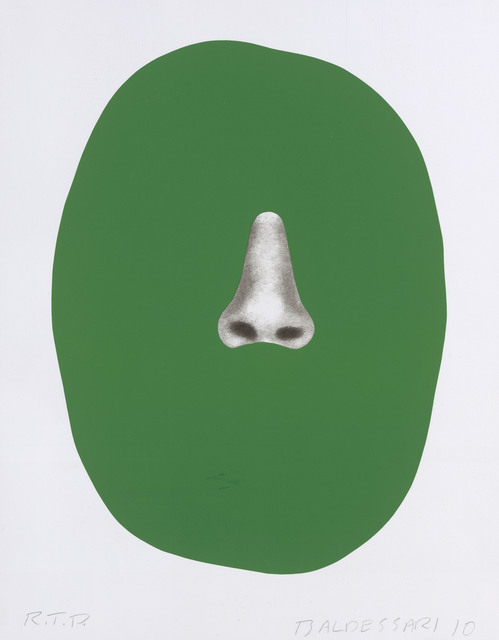 , 'Nose/Silhouette: Green,' 2010, Page Bond Gallery