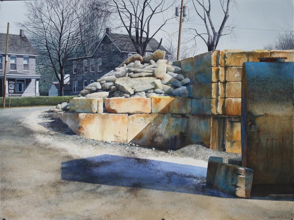 matthew daub concreterubble at rahn 39 s virginville pa 2012 available for sale artsy
