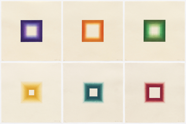 , '6 White Squares,' 2014, Aspinwall Editions