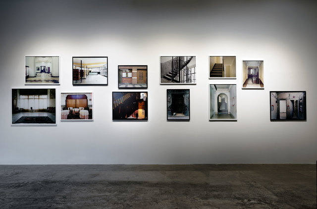 ", 'Installation view of ""Foreign Office"",' 2015, Palais de Tokyo"