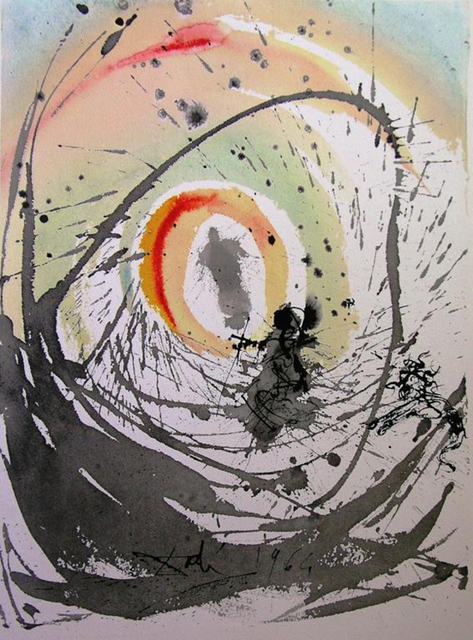 Salvador Dalí, 'A Woman Clothed With The Sun', 1967, Print, Original colored lithograph on heavy rag paper, Baterbys
