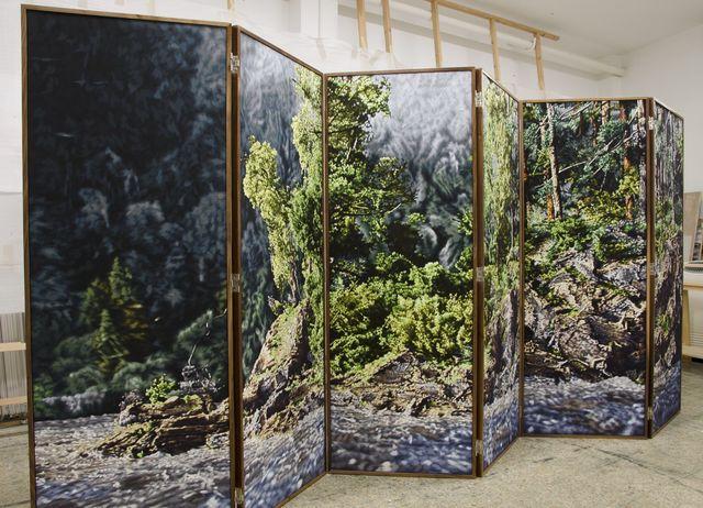 Philipp Fröhlich, 'Paravent 171', 2014, Galería Juana de Aizpuru