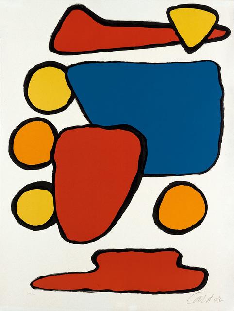 Alexander Calder, 'Stone Age', 1969, Swann Auction Galleries
