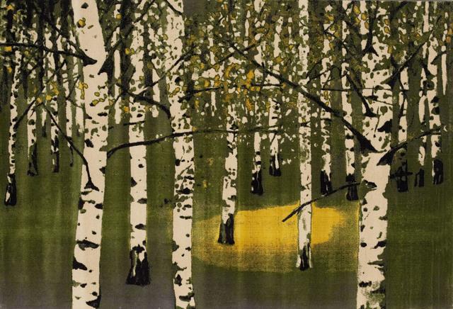 , 'Birkenwald IV,' 2006, Deweer Gallery