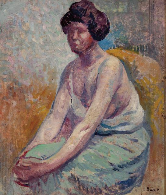 Maximilien Luce, 'Madame Luce (Portrait d'Ambroisine)', circa 1900, Doyle