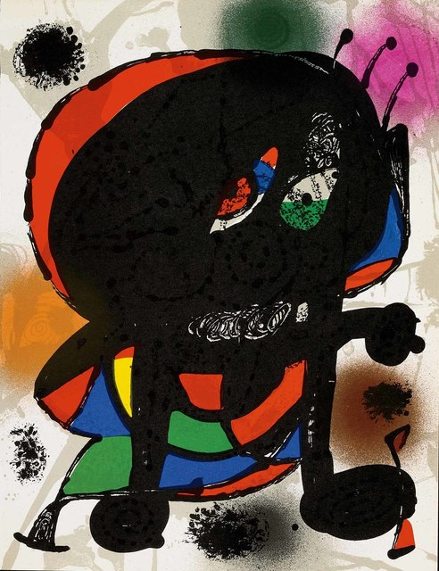 Joan Miró, 'Untitled (Lithographe III, M.1115)', 1977, Martin Lawrence Galleries