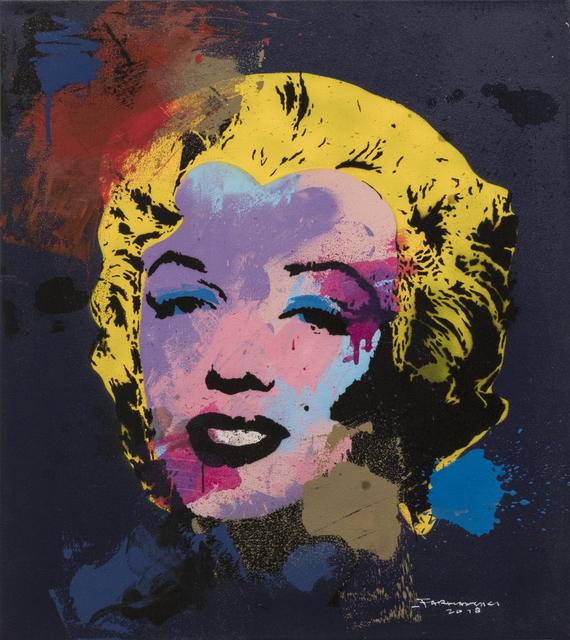 , 'Splashing Marylin No.2, cm 86,5 x 76,5,' 2018, Primo Marella Gallery