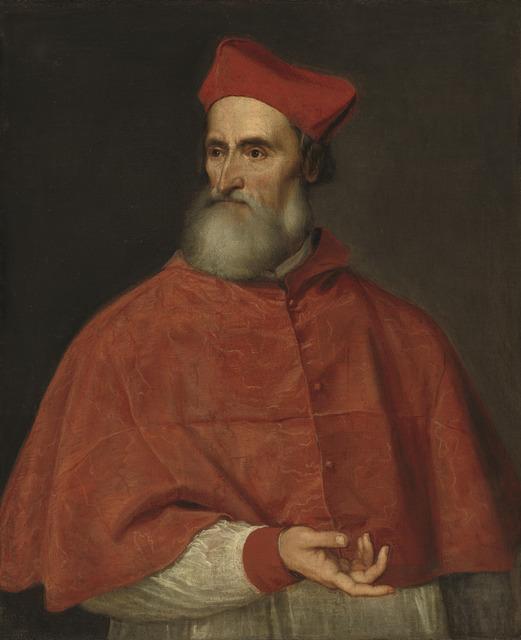 Titian, 'Cardinal Pietro Bembo', ca. 1540, National Gallery of Art, Washington, D.C.