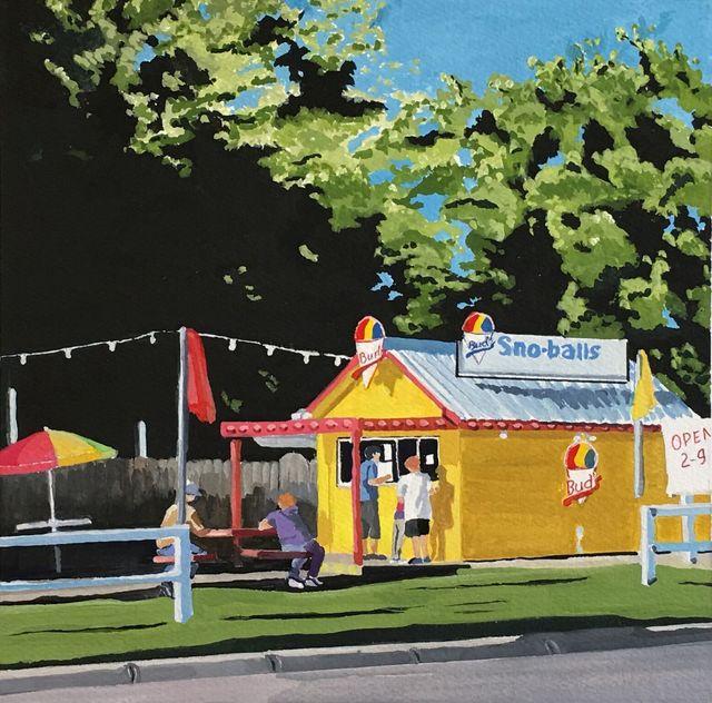 Cuyler Etheredge, 'Sno-balls', 2017, Ro2 Art