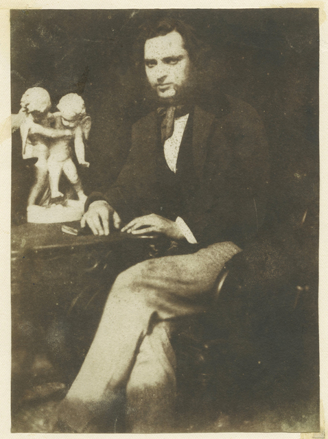 , 'Portrait of Robert Adamson (attributed).,' ca. 1845, Roland Belgrave Vintage Photography Ltd