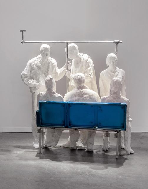 , 'Bus passengers,' 1997, Templon