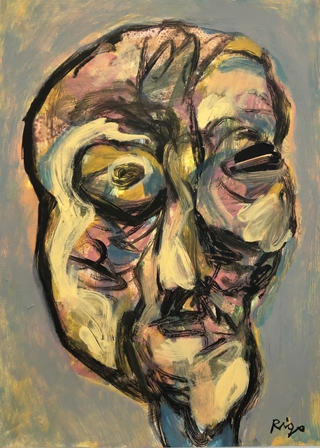 Rigo (José Rigoberto Rodriguez Camacho), 'Head 2 No. 1', ca. 2019, Thomas Nickles Project