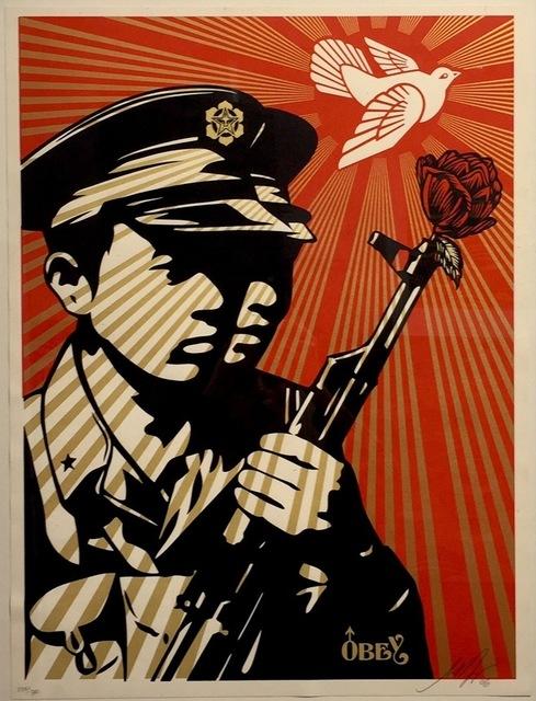 Shepard Fairey, 'Chinese Soldiers ', 2006, Gregg Shienbaum Fine Art