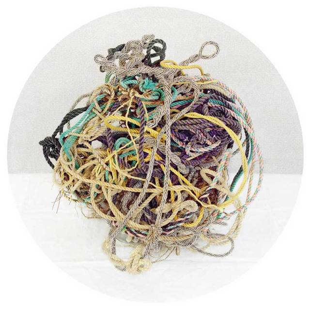 , 'Rope Ball,' 2010, Carrie Haddad Gallery