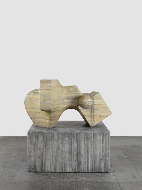 , 'D`après Tommasini (Travertin),' 2015, Galerie Eva Presenhuber