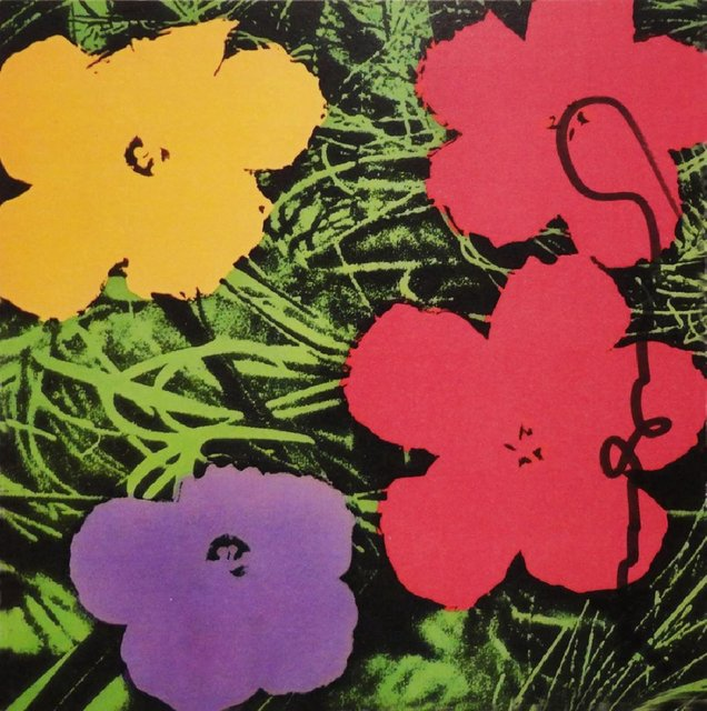 Andy Warhol, 'Flower Invitation for Galerie Sonnabend', 1970, Rudolf Budja Gallery