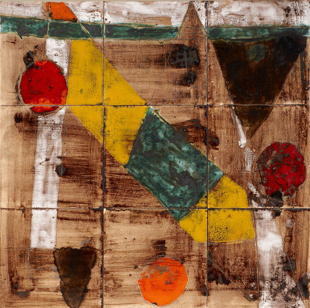 , 'Composition,' ca. 1960, Ben Uri Gallery and Museum