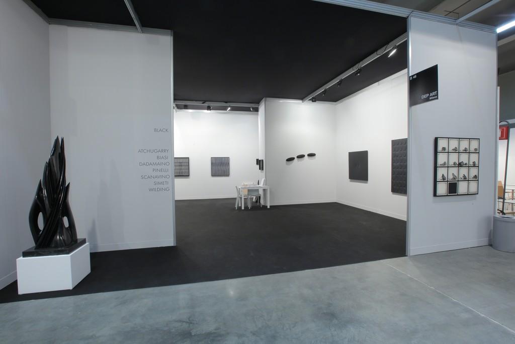 Mi Art 2014. Ludwig Wilding - Pino Pinelli - Turi Simeti - Emilio Scanavino