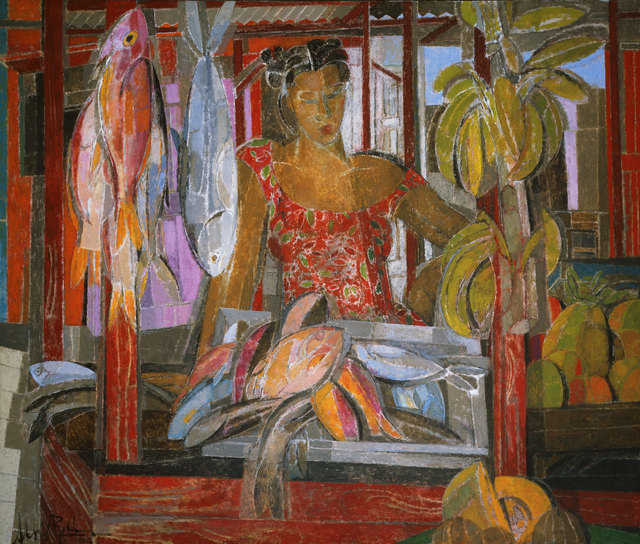 , 'Pescadera Dominicana,' 2015, Albemarle Gallery   Pontone Gallery
