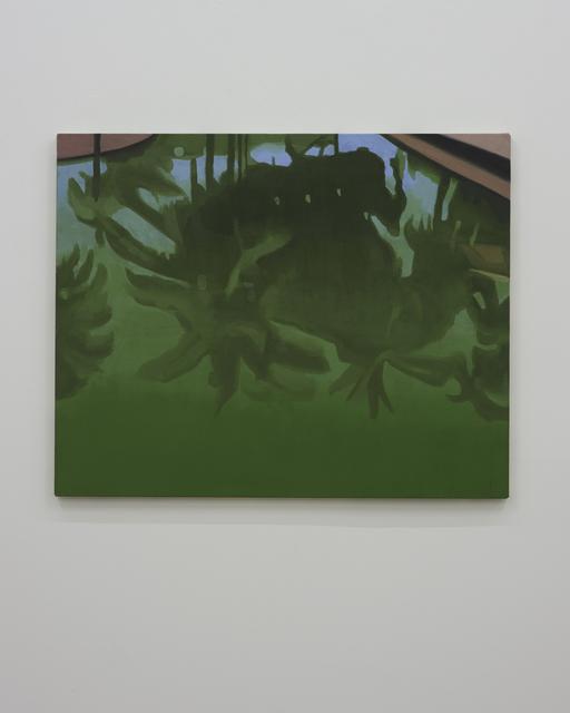 , 'Reflected Trees,' 2016, David Risley Gallery