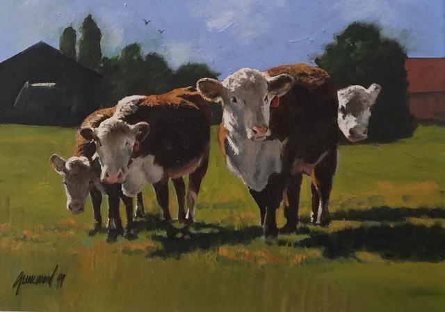 , 'Cows,' , Cosmopolitan Fine Arts