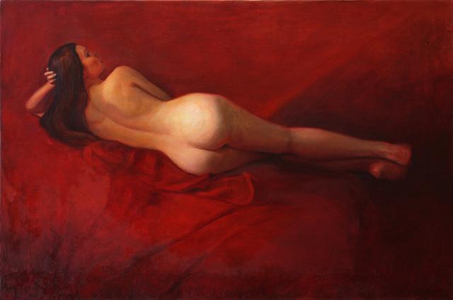 David Molesky, 'Red Lounge ', 2017, Andra Norris Gallery