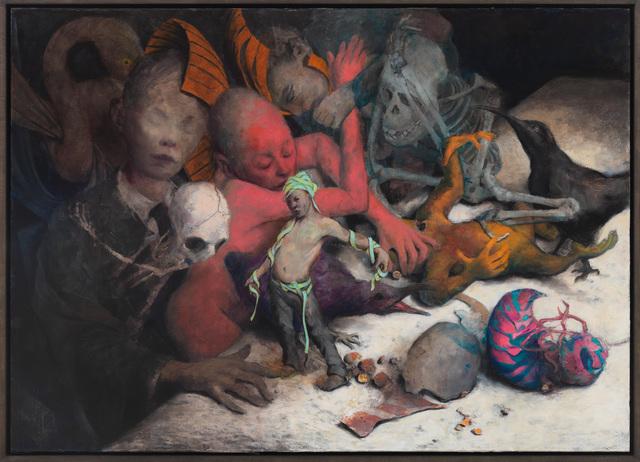 Jonas Burgert, 'blindstill', 2019, Tang Contemporary Art