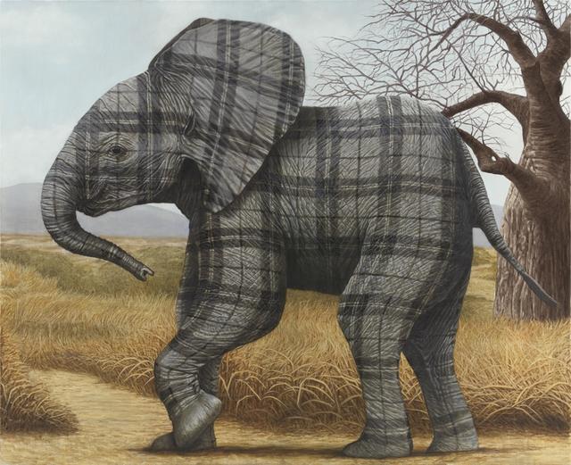 , 'Elephant Calf,' 2015, Nils Stærk
