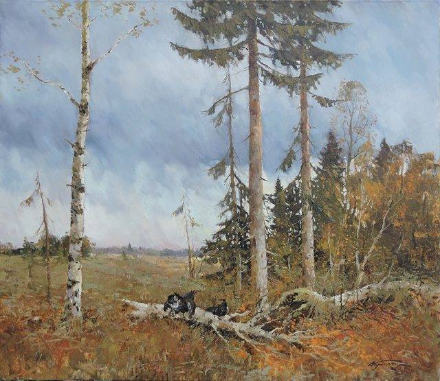 , 'Wild Turkeys,' , Abend Gallery