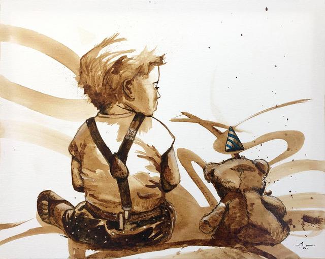 MineWill, 'Soft coffee 2', 2018, Galerie Libre Est L'Art