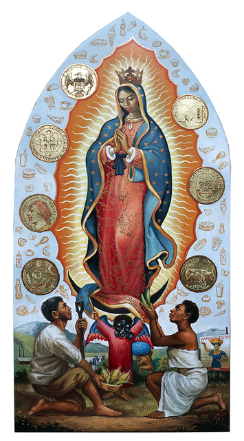 , 'DIVINE PROVIDER,' 2017, La Luz de Jesus Gallery