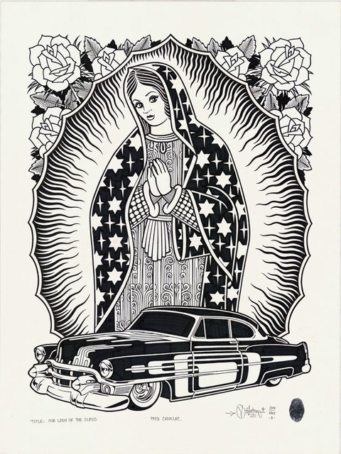 , 'Our Lady Of The Sleds,' 2017, Black Book Gallery