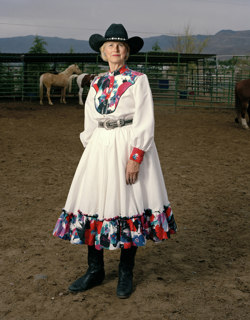 , 'Weekend Cowgirl,' 2008, Benrubi Gallery