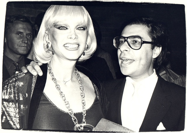 Andy Warhol, 'Andy Warhol, Photograph of Bob Colacello and a Woman, 1970s', 1970s, Hedges Projects