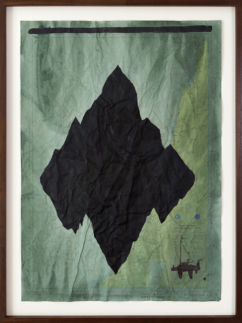, 'No Land Map,' 2016, Zemack Contemporary Art