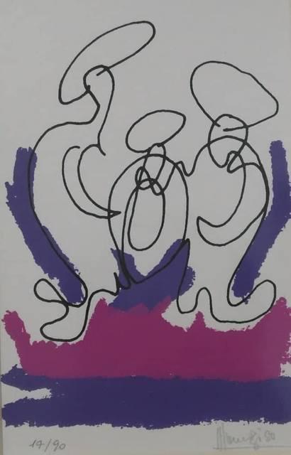 , 'Untitled,' 1980, Bab idDeir Art Gallery